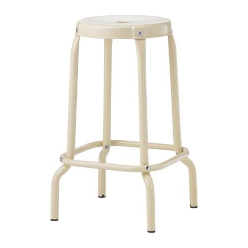RÅSKOG Bar stool, beige
