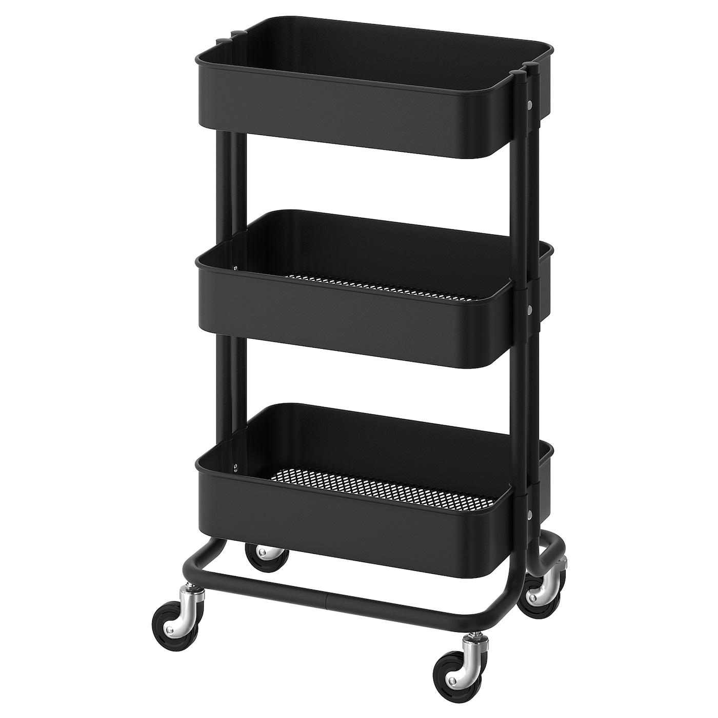 RÅskog Utility Cart Black Ikea