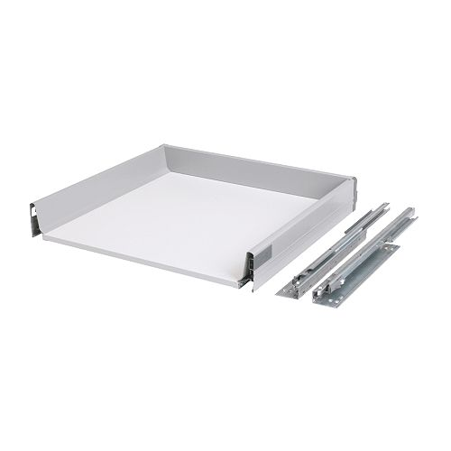 RATIONELL Fully-extending drawer IKEA Fully-extending drawer; for easy overview and access to the contents.  Smooth-running drawer with drawer stop.