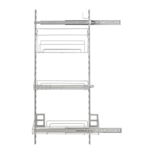 rationell pull out interior fittings ikea pull out organizers make it