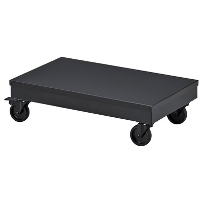 """RÅVAROR Utility cart, black, 22 1/2x13 3/8 """""""