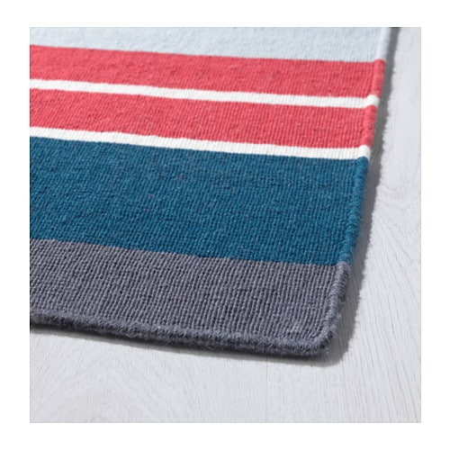 RAVNSÖ Rug, flatwoven IKEA Handwoven by skilled craftspeople, each one is unique.