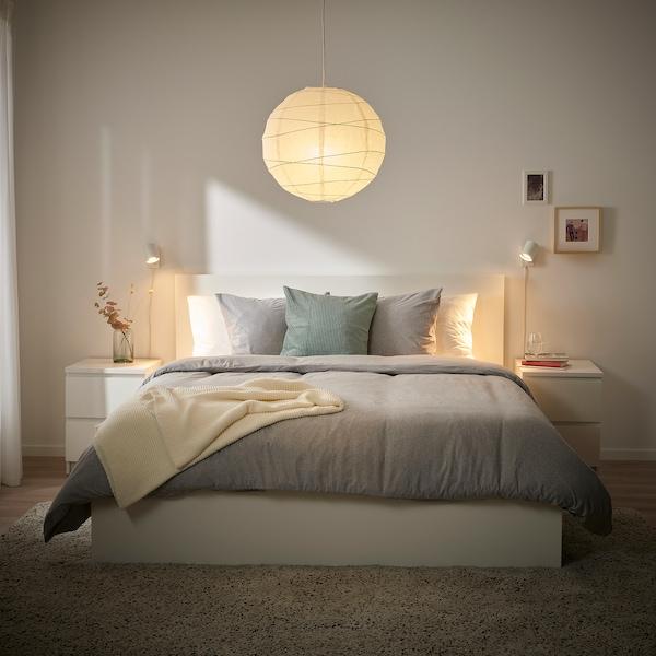 """REGOLIT Pendant lamp shade, white/handmade, 17 ¾ """""""