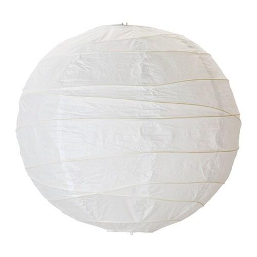 REGOLIT Pendant lamp shade, white white 17 ¾