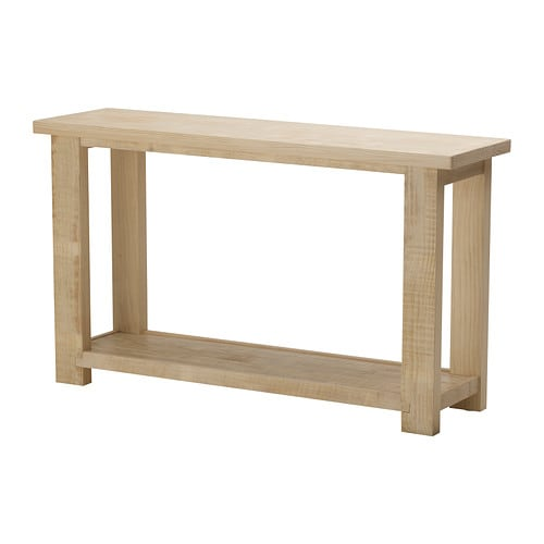 Rekarne console table ikea for Table en pin ikea