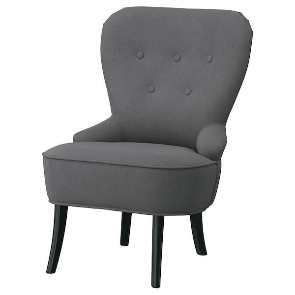 REMSTA Armchair, Hakebo dark gray