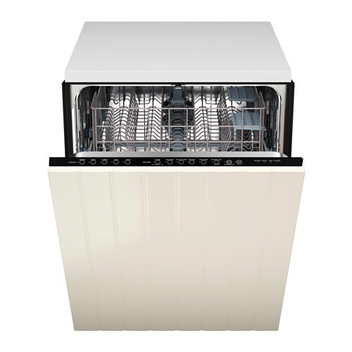 Off White Kitchen Cabinets With Stainless Appliances: RENLIG Built-in Dishwasher With Door