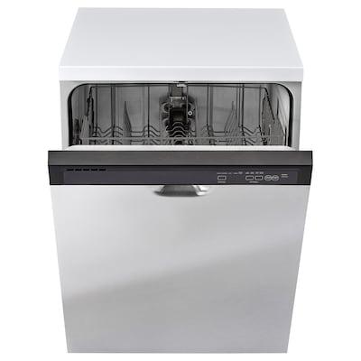 """RENLIG built-in dishwasher gray/Stainless steel 23 7/8 """" 24 1/2 """" 33 1/2 """" 74 lb"""