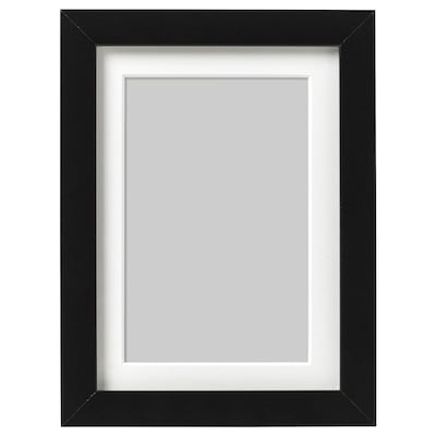 RIBBA Frame, black, 5x7 ""