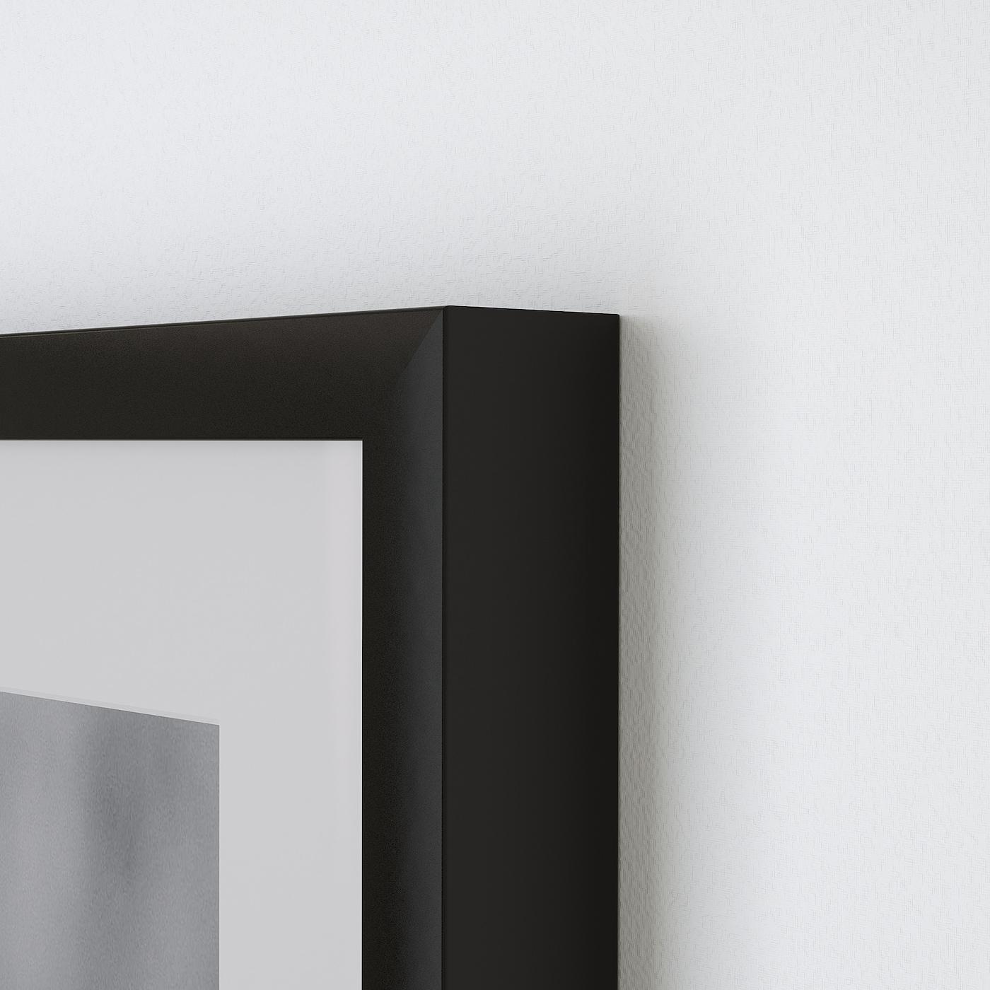 Ribba Frame Black 16x20 Ikea