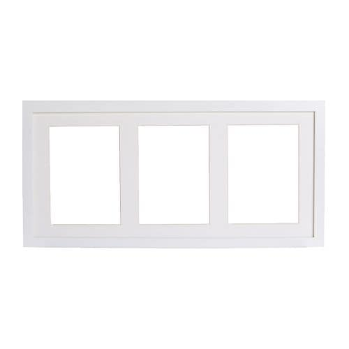 ribba frame ikea you can choose to use the frame for 3 pictures 5x7 or
