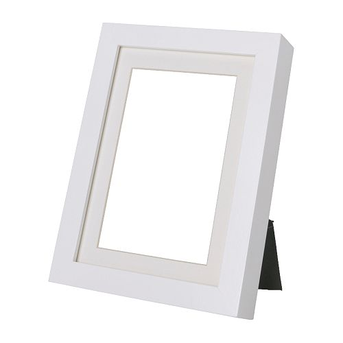 "RIBBA Frame, white Width: 9 "" Height: 11 "" Picture, width: 8 "" Picture, height: 10 "" Mat inside meas. W: 7 "" Mat inside meas. H: 5 ""  Width: 23 cm Height: 27 cm Picture, width: 20 cm Picture, height: 25 cm Mat inside meas. W: 17 cm Mat inside meas. H: 12 cm"