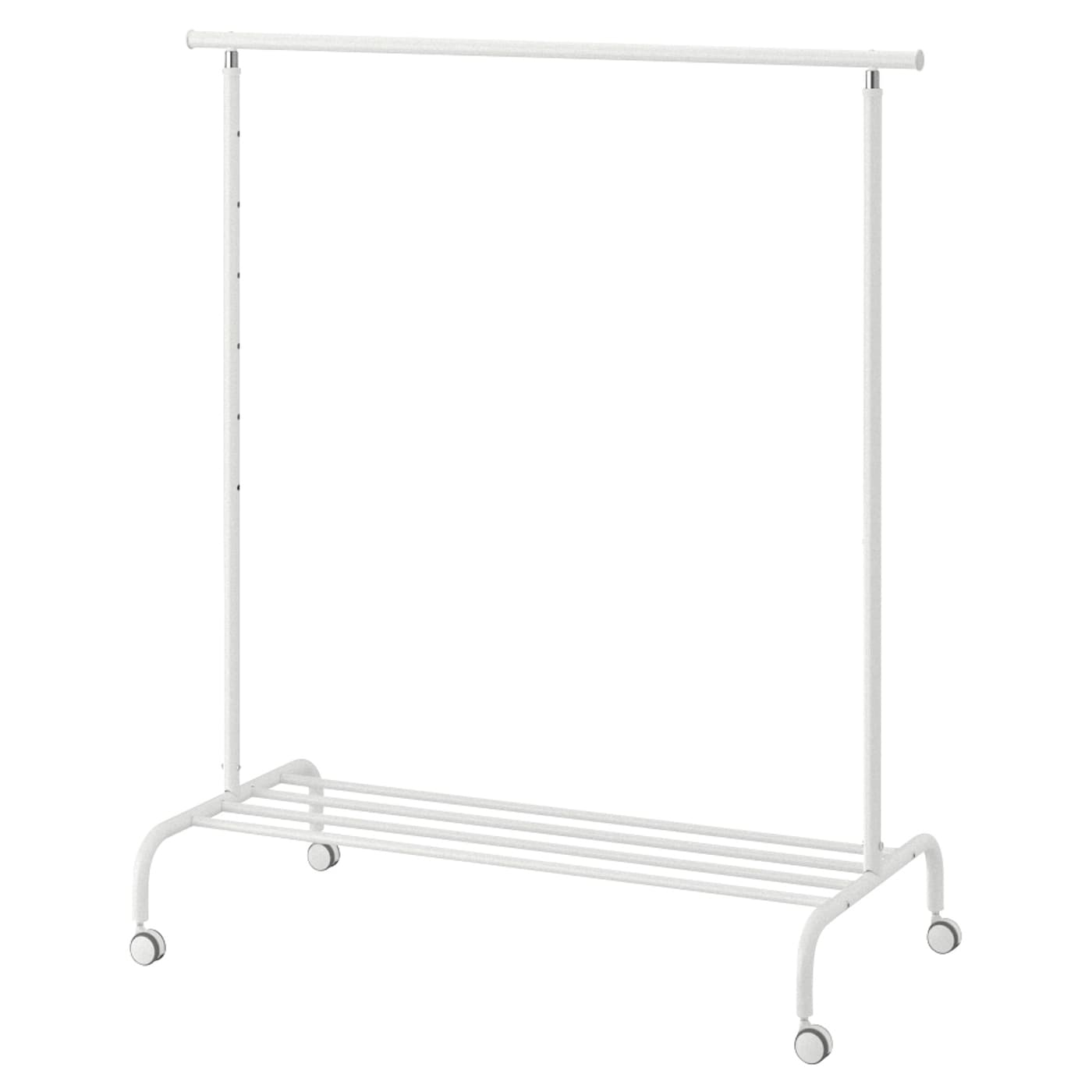 Clothes rack RIGGA white