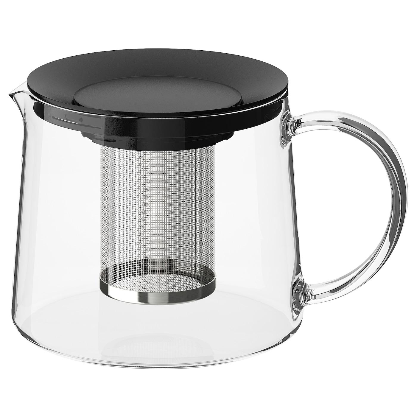 RIKLIG Teapot - glass - IKEA