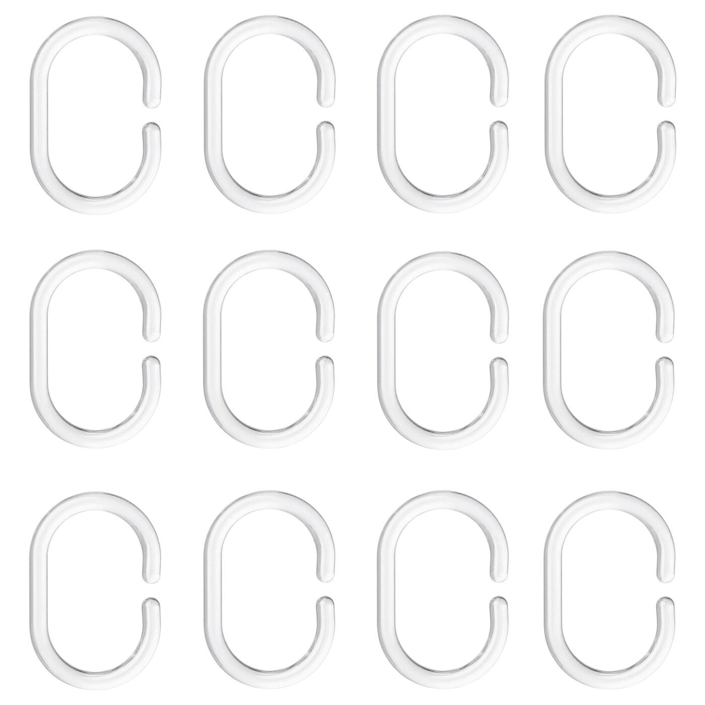Shower Curtain Rings Ringsjon Clear