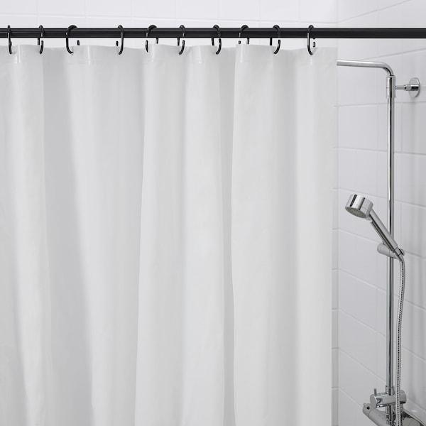 Ringsjon Shower Curtain Rings Black Ikea