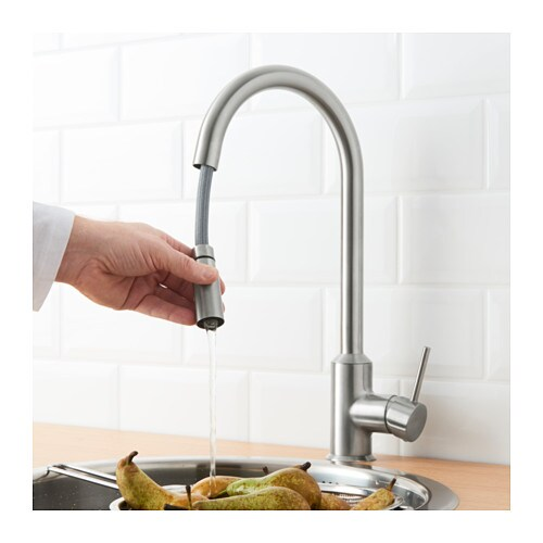 ringskÄr kitchen faucet with pull-out spout - ikea