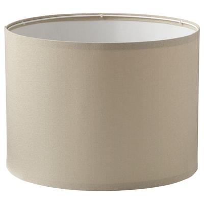 "RINGSTA Lamp shade, beige, 17 """