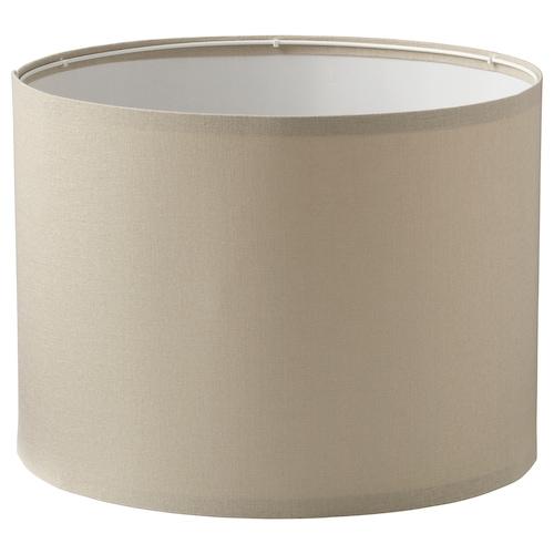 "RINGSTA lamp shade beige 17 "" 12 """