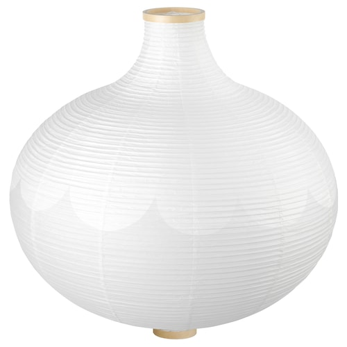 "RISBYN pendant lamp shade onion shape/white 25 "" 22 """