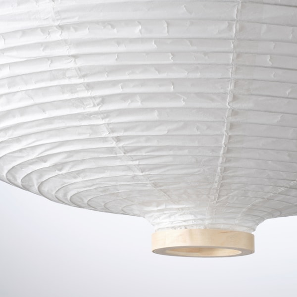 Pendant Lamp Shade Risbyn Onion Shape White