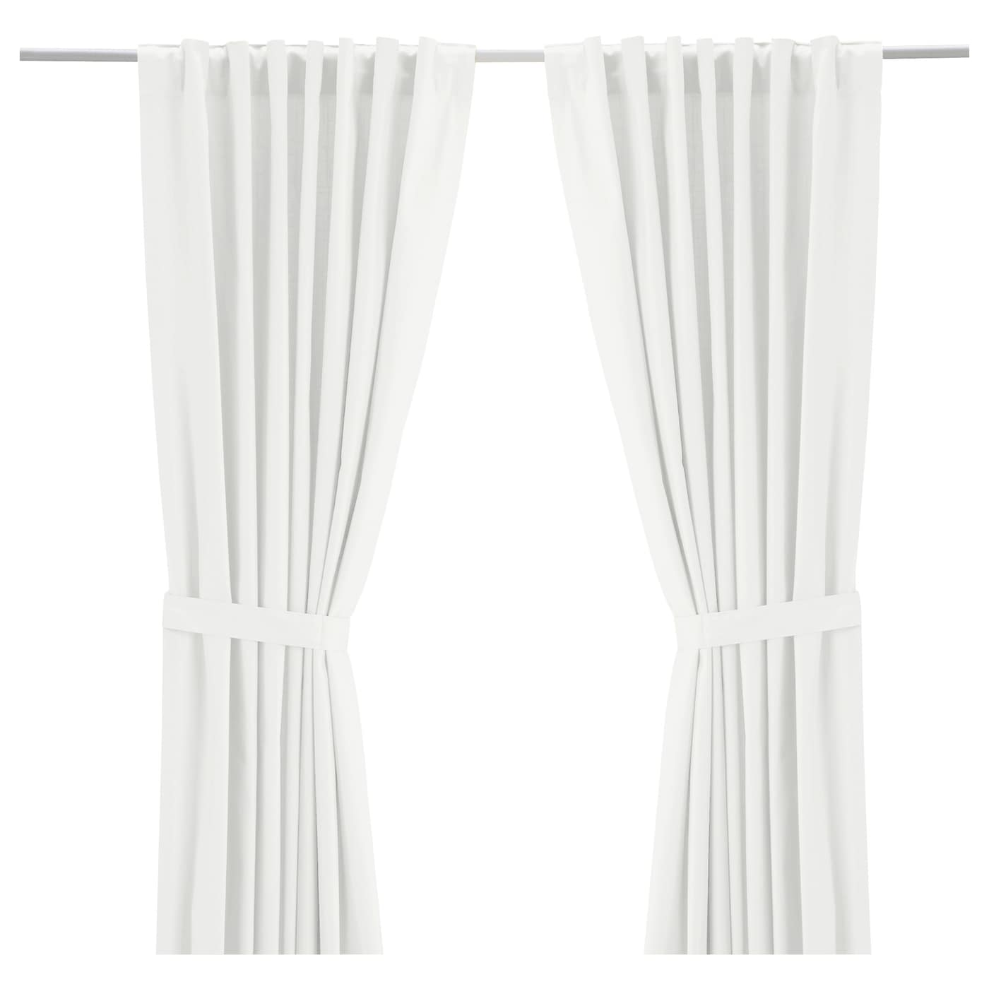 Shop RITVA Curtains with tie-backs from Ikea on Openhaus