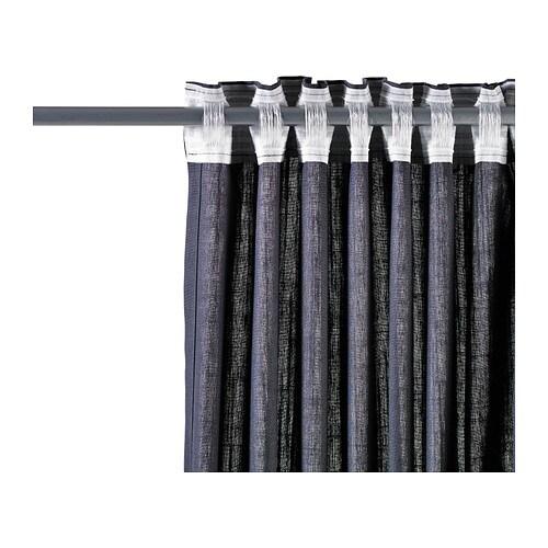 Ritva Curtains Brown Curtain Menzilperde Net