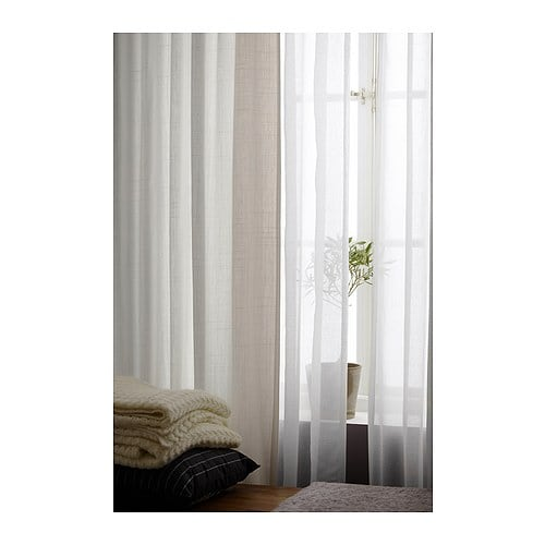 Curtains Ideas curtain panels ikea : RITVA Curtains with tie-backs, 1 pair - 57x118