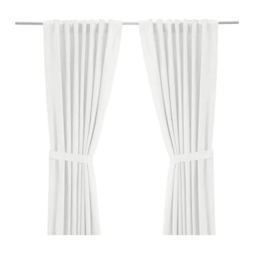 ritva curtains with tie backs 1 pair 57x98 ikea
