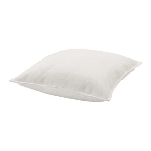 RITVA Cushion cover IKEA Zippered cover is easy to remove for washing.