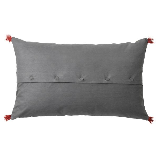 "RÖDARV Cushion, multicolor, 16x26 """