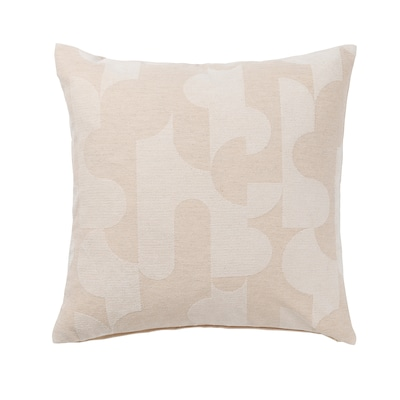 RÖDASK Cushion cover, beige, 20x20 ""