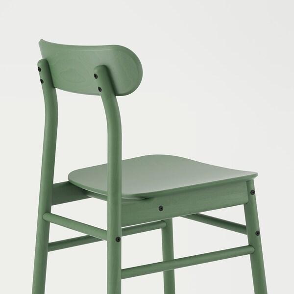 "RÖNNINGE chair green 243 lb 18 1/8 "" 19 1/4 "" 31 1/8 "" 16 1/8 "" 16 1/8 "" 17 3/4 """