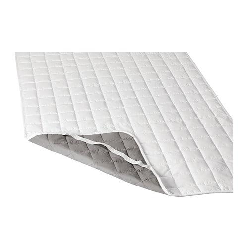 Rosendun mattress protector full ikea - Colchon de futon ...