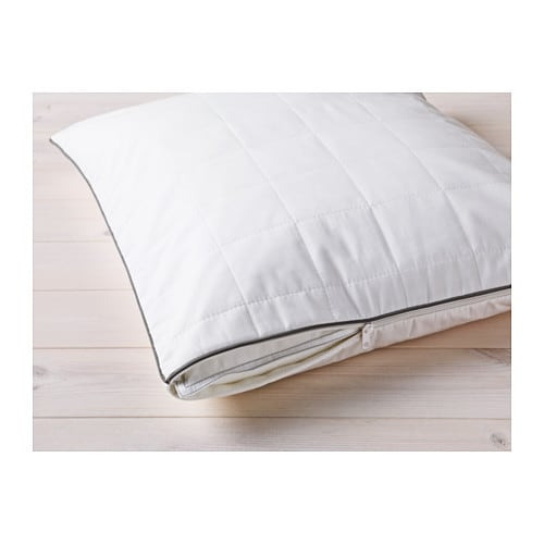 ROSENDUN Pillow protector IKEA You can prolong the life of your pillow and protect against stains and dirt with a pillow protector.