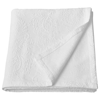 """ROSTNATE Bedspread, white, 110x102 """""""