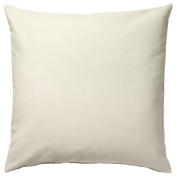 "ROTFJÄRIL cushion cover natural/multicolor 20 "" 20 """