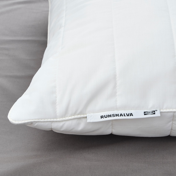 RUMSMALVA Ergonomic pillow, side/back sleeper, Queen