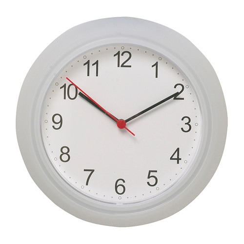 Rusch wall clock ikea - Horloge murale decorative ...