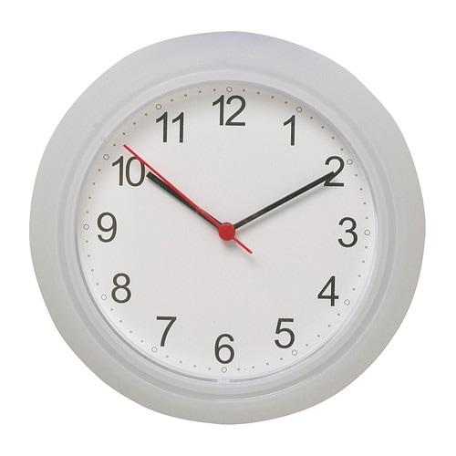 RUSCH Wall clock, white