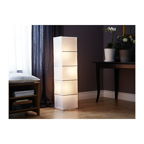 Ikea Kleiderschrank Rakke Gebraucht ~ Details about Ikea Floor Lamp Light Lighting White 45  New