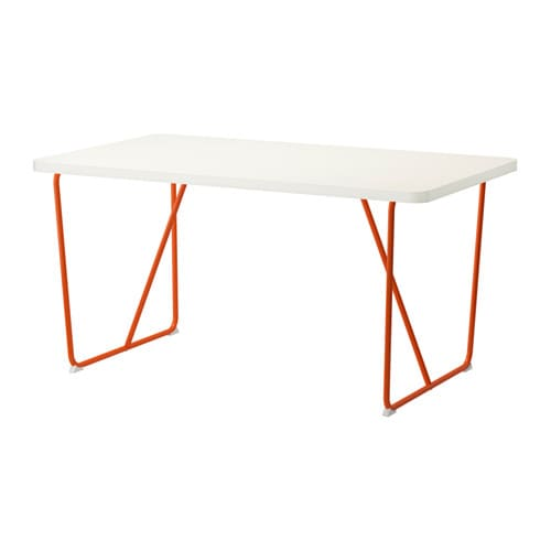 Rydeb ck table backaryd orange ikea - Table a roulettes ikea ...