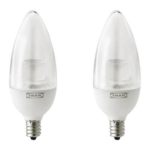 RYET LED bulb E12 200 lumen, chandelier clear chandelier clear -