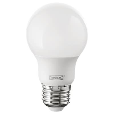 RYET LED bulb E26 400 lumen globe opal 400 Lumen 5 W
