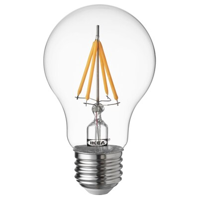 "RYET LED bulb E26 470 lumen globe clear 2700 K 470 Lumen 2 "" 4.0 W"