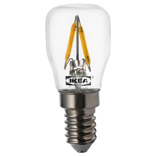 """RYET LED sign bulb E12 80 lumen clear 2700 K 80 Lumen 1 """" 0.8 W"""