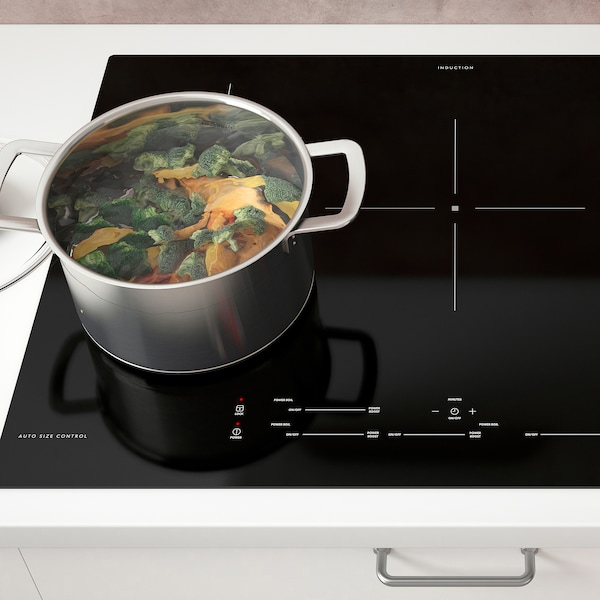 "SÄRKLASSIG Induction cooktop, black, 30 """