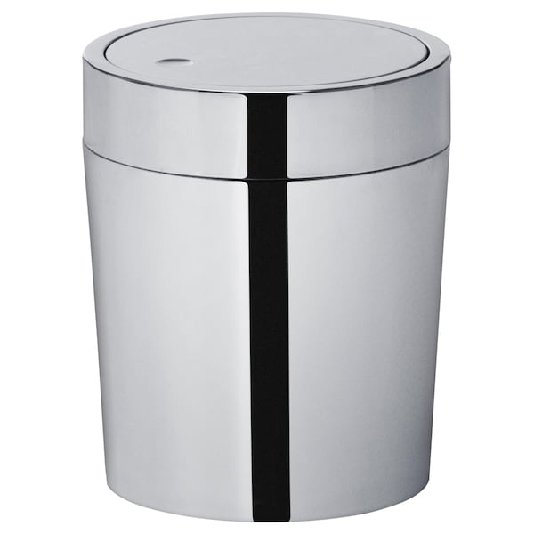 Trash Can Stainless Steel 1 Gallon