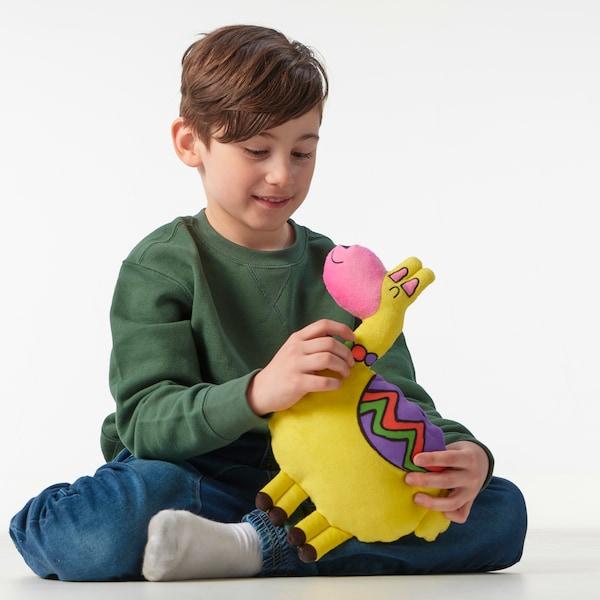 SAGOSKATT Soft toy, llama