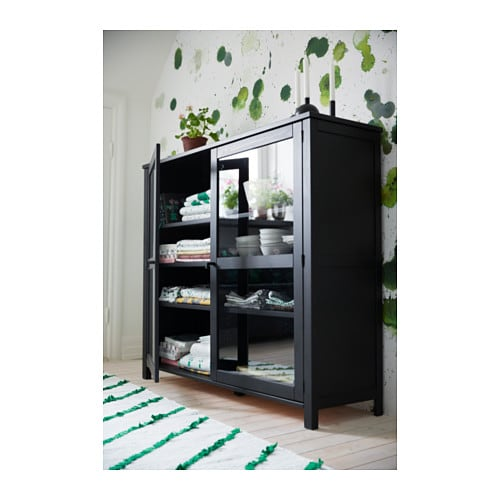 http://www.ikea.com/us/en/images/products/sallskap-glass-door-cabinet-black__0488788_PH137605_S4.JPG
